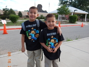 irving and jesse james first day of school 2017