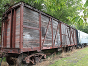 Railroad Box Car
