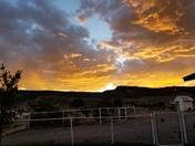 Seboyeta sunset