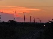 Guthrie sunset