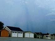 Strange looking cloud taken from Amish Markets  looking towards Stewartstown