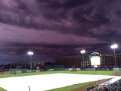 Stormy Night at GSO Grasshoppers Game