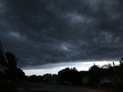 Storm moving into E-Town