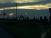 Sunset on Route 66 El Reno