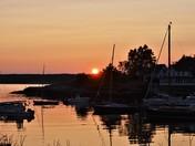 Southport Island Sunset