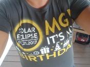OMG! It's my Solar Eclipse Birthday!
