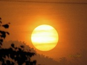 Eclipse Sunrise in Bristol.