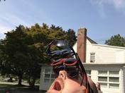 Redneck eclipse glasses.