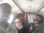 Soldiers and Staff flying from Jackson Hawkins field to Nashville for the Solar