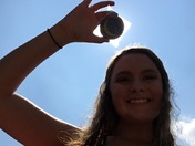 Eclipse views from Copiah Lincoln Community College