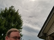 Dad and son eclipse 2017