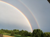 Two rainbows!!!