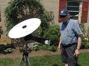 Backyard Eclipse viewing