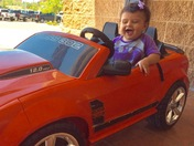 First birthday August 25th Sofia Rae Duran