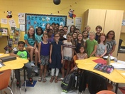Mrs. Basanda's 5th Grade Class-Dale's School Salute