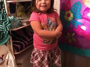 Jordyn is happy she is going to be a big sister