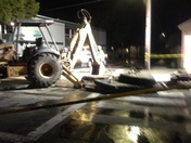 Night Work Broken Water Main Abrego & Webster