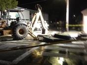 Night Work Broken Water Main Abrego & Webster