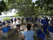 NCCI Employees Clean Up Ocean Inlet Park with Sea Angels