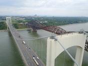 du haut du pont