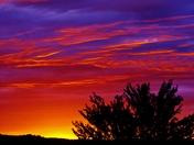 sunset clouds, 8-27-2017