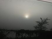 Fog in leavenworth county ks (wolcott rd)