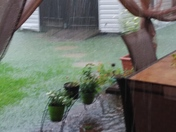 Flooding in Luling