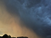Ombré sky in Rio Rancho
