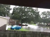 Flash flooding from Harvey