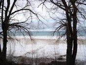 Winter Beach View