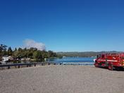 49er San Juan fire from Lake Wildwood