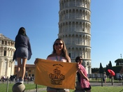 terrible town in Pisa and Rome