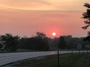 sunrise in Rockwell City