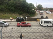 885 accident this morning
