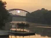 Sunrise on the Iowa River