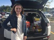 Hampstead Teen donates to 401 Tavern for Houston Families