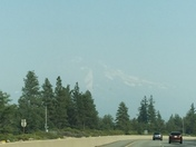 My Shasta Friday 9/117 Smoke covered
