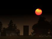Sunset of the Farm