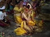 A dancer in prayer