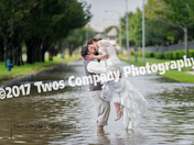 Wedding in the middle of Harvey