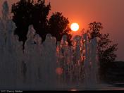 Volker Fointain Sunset