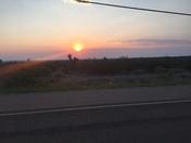Sunset in La Luz NM