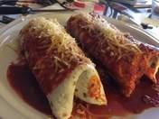 Twin Carne Burritos!