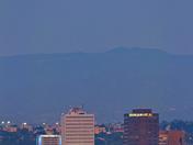 Smokey Full Moon Over Albuquerque
