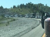 I49 S Pineville MO 64856 Still sitting in traffic!!! I must start to move!