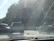 2 accidents in a 2 mile stretch I85 S miles 23-21