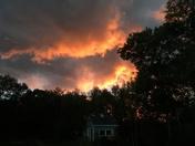 Sunset over Shelburne, NH