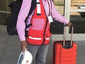 American Red Cross Volunteer Being Deployed to Hurricane Territory