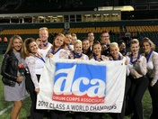 Cincinnati Tradition Drum and Bugle Corps wins Class A at DCA World Championship