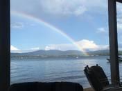 Bright Rainbow on Lake Winnisquam